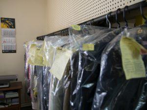 Sausas drabužių valymas