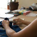 Smulkus drabužių taisymas